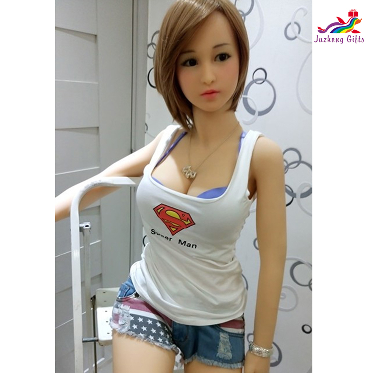 158cm small breast sex doll full size silicone real sexual toys pussy for man