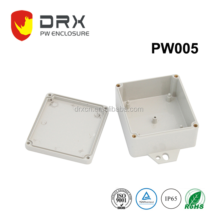 Molded plastic electronics enclosures waterproof box IP65