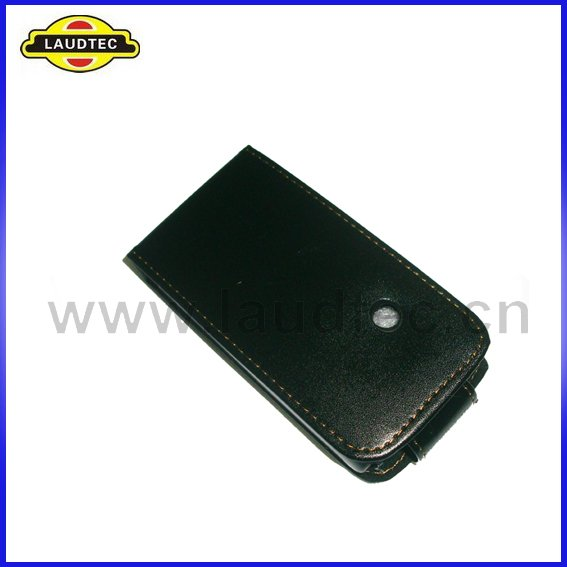 Leather Case for sony ericsson xperia x8