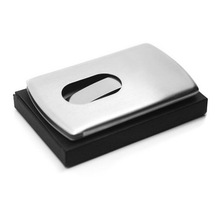 high quality promotional Metal slider Business Name Card case
