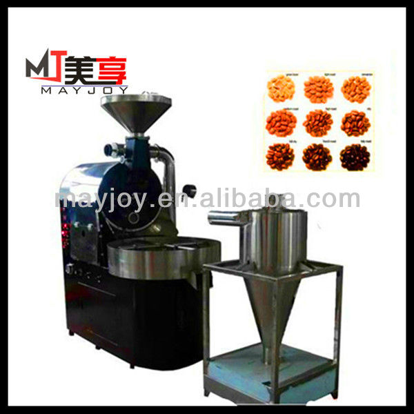 Hot selling coffee shop 10kg/batch coffee beans roasting machine