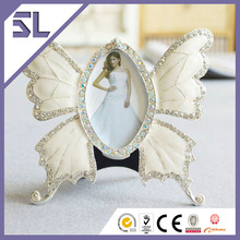Funny Butterfly Wedding Mini Photo Frame