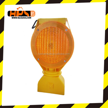 2016 High Visibility Traffic Security Warning Sign Flashing Led Solar light for Road Safety