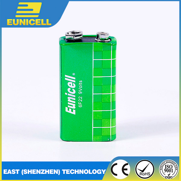 2017 Hot Sale Super Heavy Duty Dry Battery 6F22/ 9V Batteries