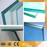 Safety Laminated Glass with Thickness Standards
