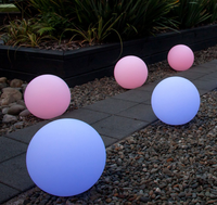 Christmas led light outdoor Swimming Pool LED Floating Ball Lighting 50cm led sphere