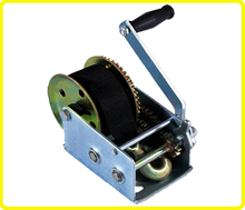 Heavy duty dutton lainson winches , 2500 lb worm gear hand winch , manual boat winch for sale