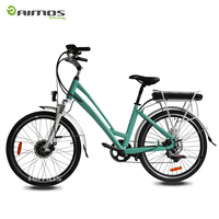 Aimos MXUS 36v 250w llithium battery CE EN15194 city electric bicycle