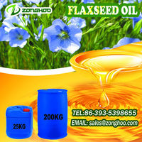 natural bulk flax seed oil from China