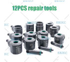 12pcs common rail injector clamping tool to hold injector used on test bench