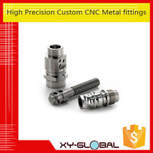 high precision cnc machining metal fittiings