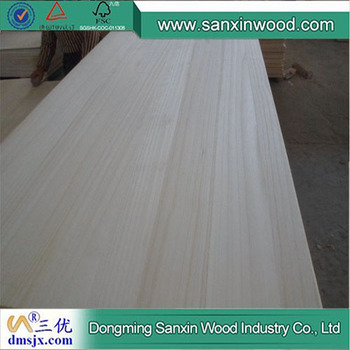 Wholesale Paulownia Edge Glued Board for Used Coffins for Sale