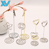 Cake Accessories Decoration Assorted shapes metal wire card clips