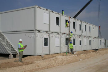 temporary construction labor camp