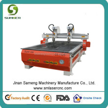 M25 double heads high speed wood cnc router machine/ cnc router for wood kitchen cabinet door Ce