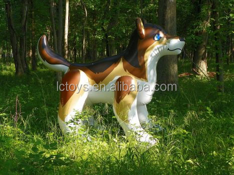 Customized inflatable fenris wolf,giant inflatable animals