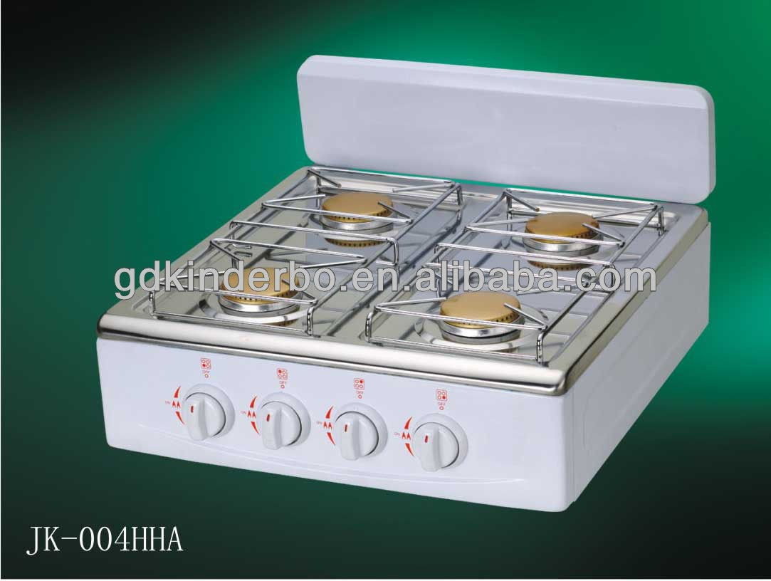 Kitchen household 4 burners table top gas stove
