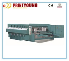 K3 Full-auto corrugated carton flexo print machine with die-cutting and slotting
