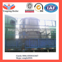Hot sale vertical type 1.4mw coal/wood fired thermal oil boiler