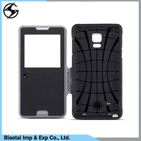 Elegant and cool good combination case for Samsung galaxy note 3 flip case cover price good
