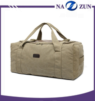 Fashion Wholesale Large Capacity Sport Waterproof Handbag Canvas Travel Duffle Bag Manufacturers China