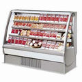 Multi-deck Open Air display refrigerator with Easy Reach Modern Design for supermarket