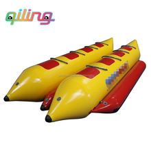 inflatable fishing banana boat from end factory