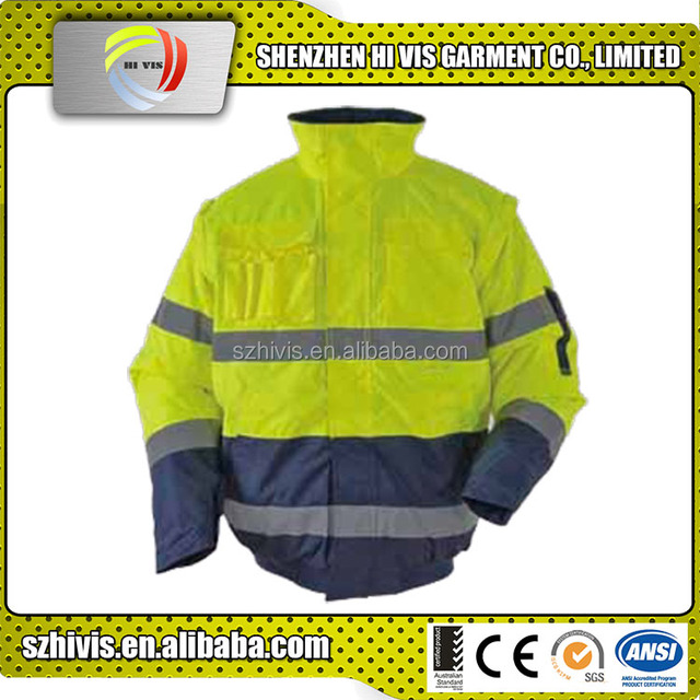 Waterproof Oil Repellent Uniform Heavy Duty Work Jacket