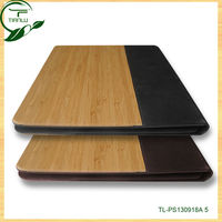 hot selling wood case for ipad mini, cheap price wood flip cases