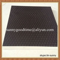 Small check or hexagonal anti-slip plywood for truck floor