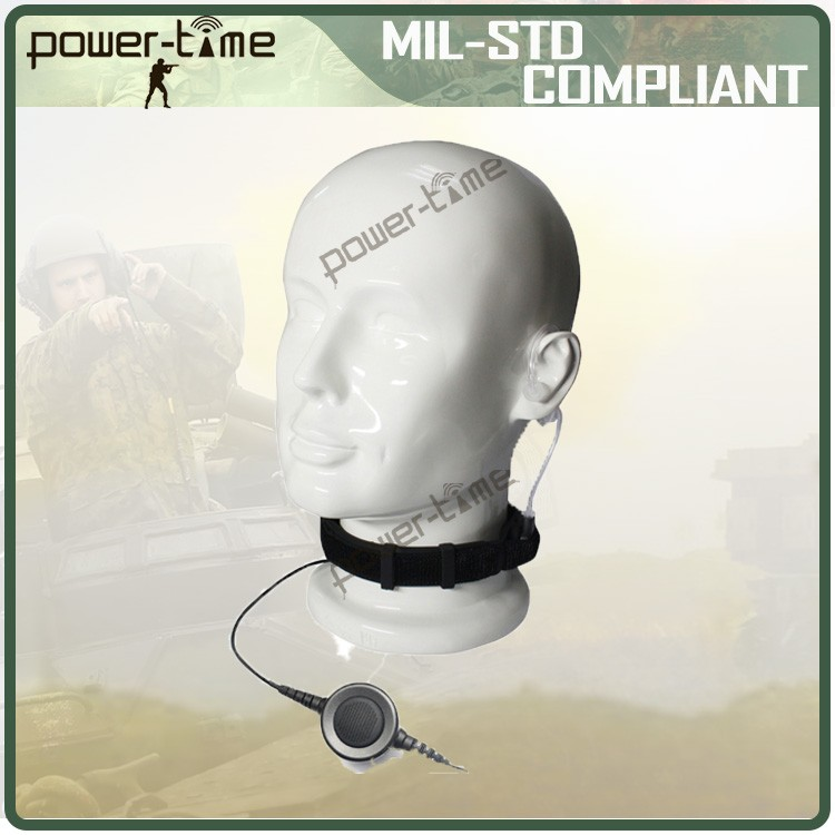 Tactical throat microphone for helmet PTE-796