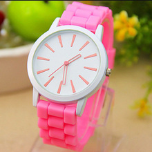 Silicone wristband watch,silicone sports watch,vogue watch women