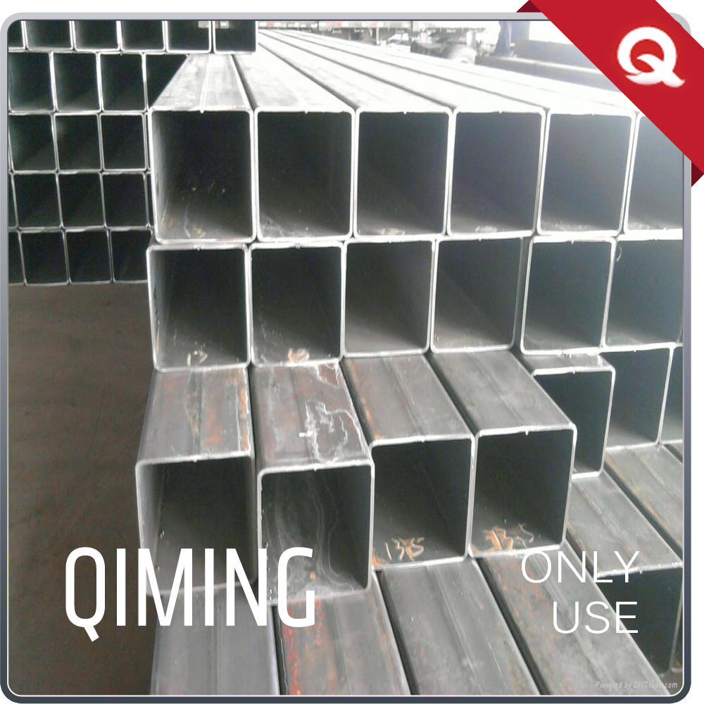 q235 erw welded square hollow section tubing for coffee maker