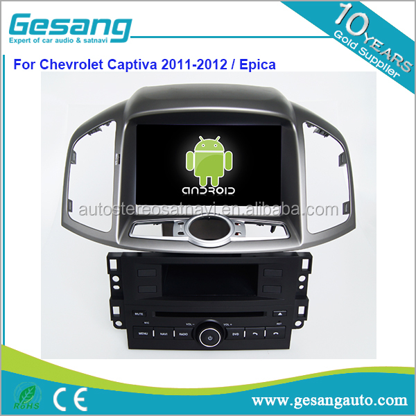 car dvd player for Chevrolet Captiva 2011-2012/ Epica android 6.0 system 8 core 2g ram 2g rom