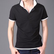 Man high quality original color combination polo shirt design