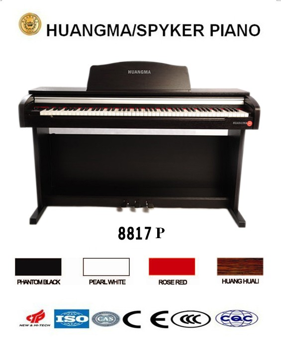 HUANGMA HD-8817P upright digital piano for roland keyboard