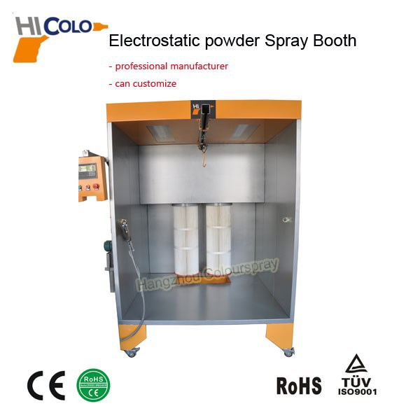 High Effciency Electrostatic Used Powder Coating Equipment For Sale with CE