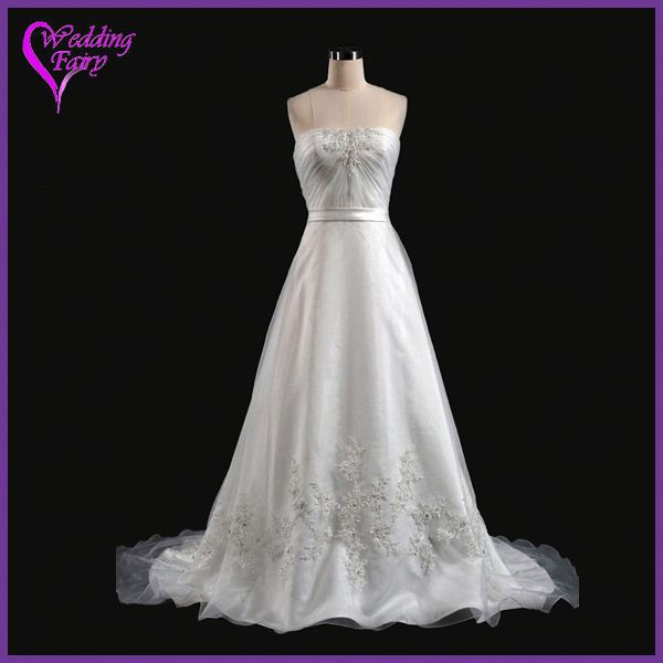 Promotional Prices!!! OEM Factory Custom Design grey and white wedding dresses