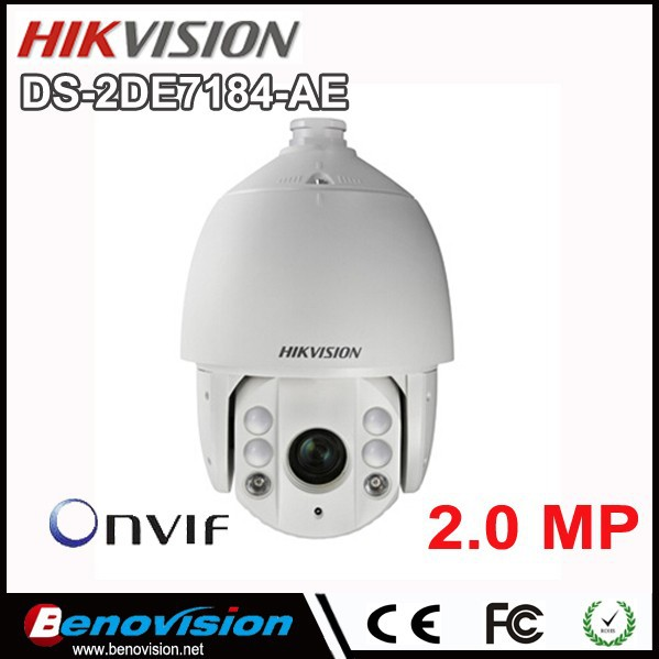 2MP 1080P 20x IR PTZ Speed Dome IP Camera POE DS-2DE7184-AE Wholesale Hikvision PTZ