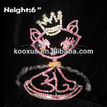 Rhinestone Cat Baby Crowns