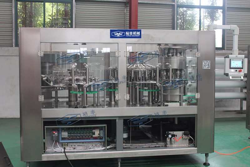PLC controlled Siemens motor mineral water filling machine price