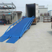 Container loading adjustable loading ramps mobile loading ramps