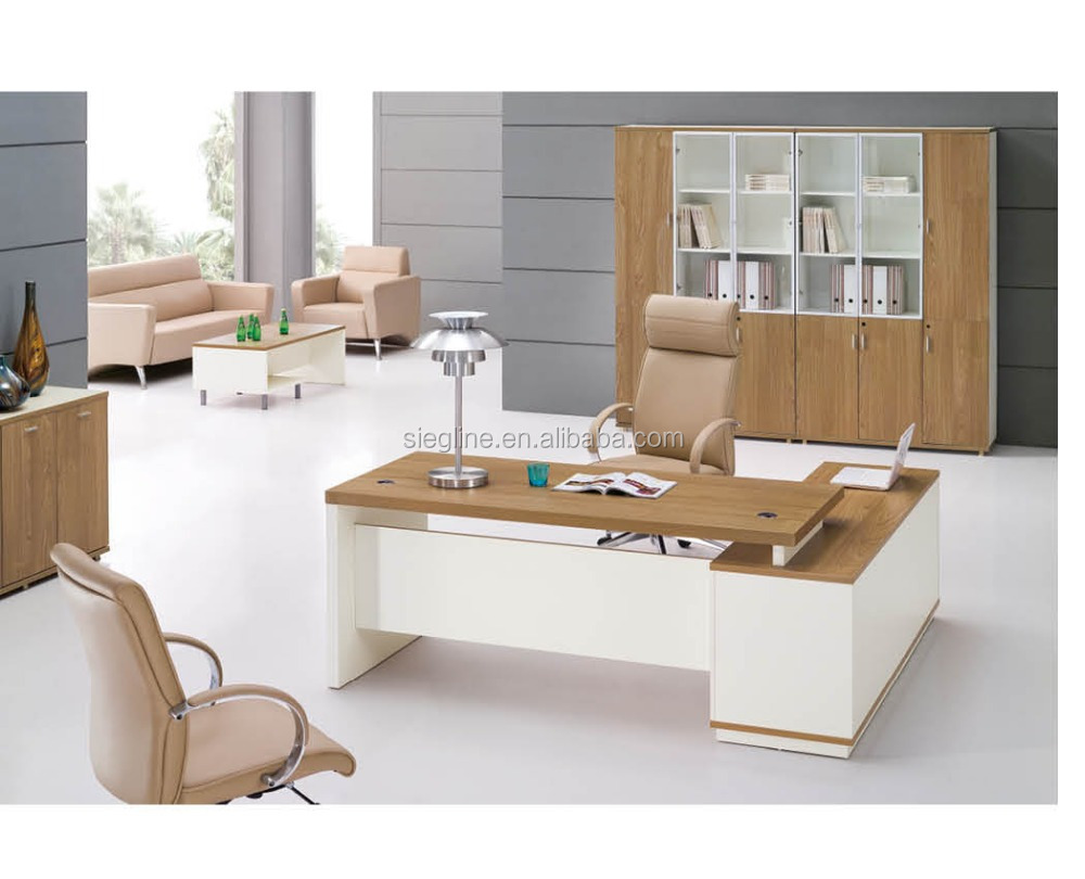 2016 New Wooden Modern fice Desk For Manager Room With