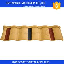 Professional Stone-Coated Roman Tile Metal Roofs With Good After-sale Service