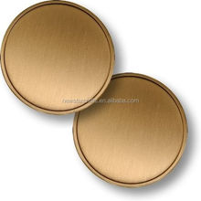High quality blank metal coin
