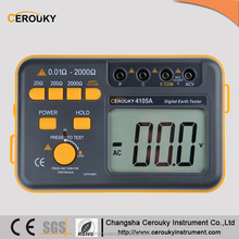 CR4105A digital earth continuity tester contact resistance tester