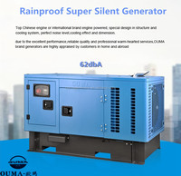 CE and SONCAP approved Ultra Silent Diesel Generator 25kw single phase