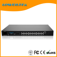 24 RJ45 port 10 Gigabit Ethernet switch standard 2-layer non-blocking switch