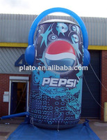 Large advertising pepsi can/inflatable advertising pepsi cola model
