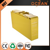 Modern design high capacity elegant 12V 150ah storage battery